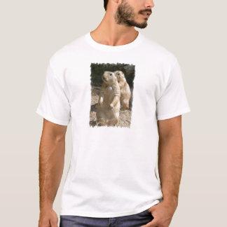 プレーリードッグの写真の人のTシャツ Tシャツ