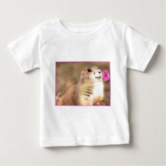 プレーリードッグの幼児のワイシャツ ベビーTシャツ