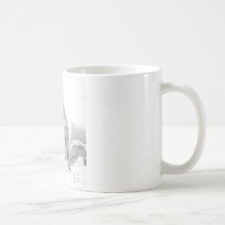 プレーリードッグの鉛筆のスケッチ コーヒーマグカップ