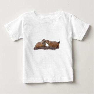 プレーリードッグ愛 ベビーTシャツ
