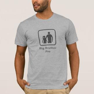 プロお兄さん(妹) (灰色のロゴと) Tシャツ