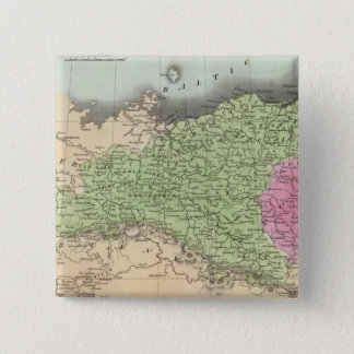プロイセンの州2 5.1CM 正方形バッジ