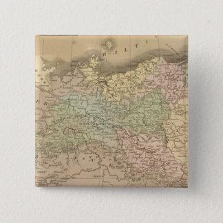 プロイセンの州 5.1CM 正方形バッジ