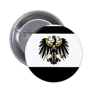 プロイセンの旗ピン 5.7CM 丸型バッジ