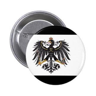 プロイセンの旗ボタン 5.7CM 丸型バッジ