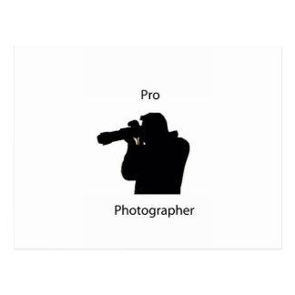 プロカメラマン ポストカード