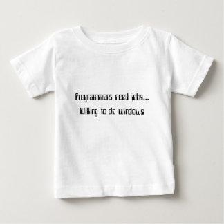 プログラマーは仕事を必要とします ベビーTシャツ