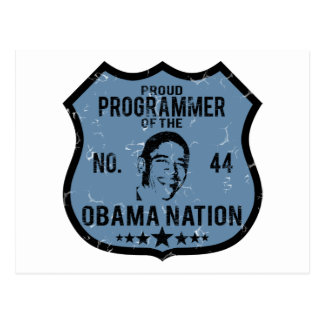 プログラマーオバマの国家 ポストカード