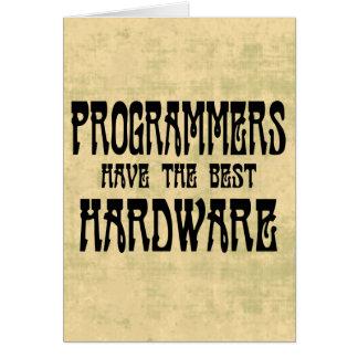 プログラマーハードウェア グリーティングカード