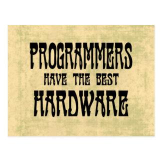 プログラマーハードウェア ポストカード