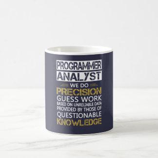 プログラマー分析者 コーヒーマグカップ