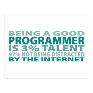 プログラマー3%才能 ポストカード