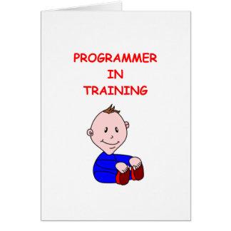 プログラマー グリーティングカード