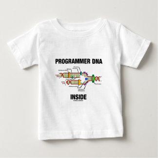 プログラマーDNAの内部(DNAの写し) ベビーTシャツ
