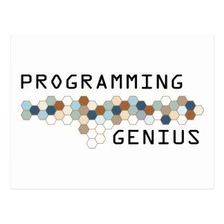 プログラミングの天才 ポストカード