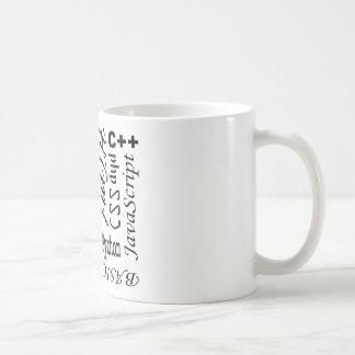 プログラミング言語のマグ コーヒーマグカップ