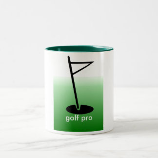 プロゴルファーのマグ ツートーンマグカップ