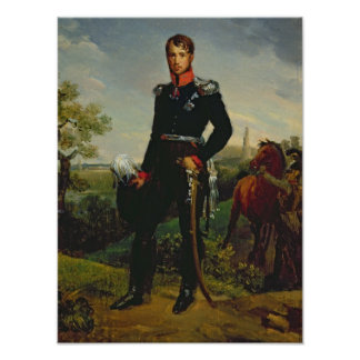 プロシア1814年のフレデリックウィリアムIII王 ポスター