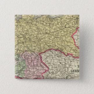 プロシア、ドイツの州 5.1CM 正方形バッジ