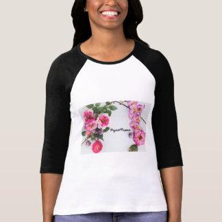 プロジェクトの目的-花 Tシャツ