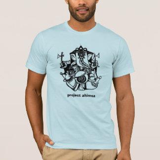 プロジェクトのAhimsaのTシャツ Tシャツ