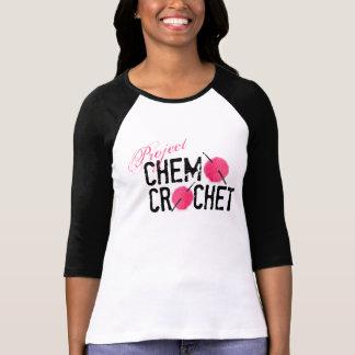 プロジェクトのChemoのかぎ針編みのロゴのワイシャツ Tシャツ