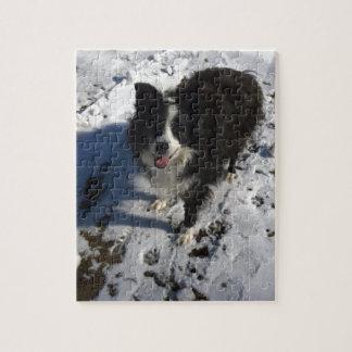 プロダクトのボーダーコリーの写真 ジグソーパズル