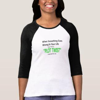 プロットのねじれ Tシャツ