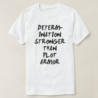プロットの装甲日本製アニメのワイシャツより強い決定 Tシャツ
