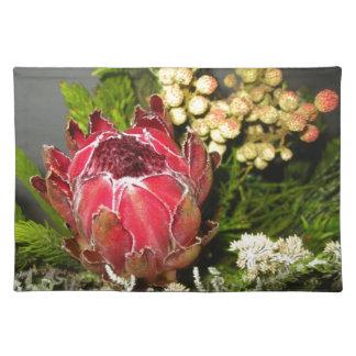 プロテアの花束 ランチョンマット