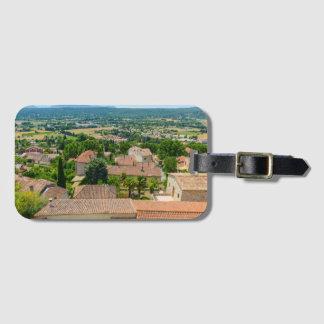 プロバンスの写真のフランスのな田舎 ラゲッジタグ