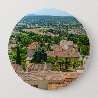 プロバンスの写真のフランスのな田舎 10.2CM 丸型バッジ