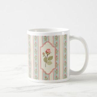 プロバンスの花柄のマグ コーヒーマグカップ