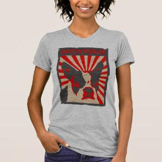 プロパガンダのボストンテリア Tシャツ