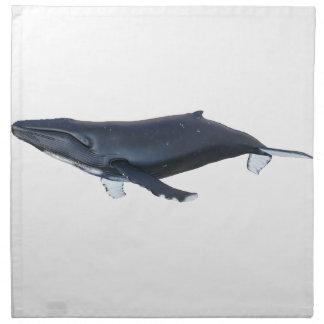 プロフィールのザトウクジラ ナプキンクロス