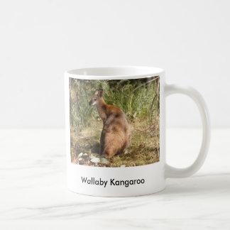 プロフィールのワラビー、 コーヒーマグカップ