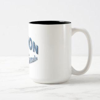 プロフェッショナルのためのロンドン ツートーンマグカップ