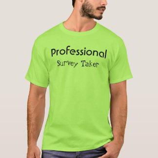 プロフェッショナル(調査の受け手) Tシャツ