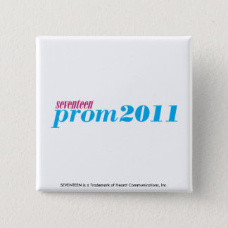 プロム2011年-水 5.1CM 正方形バッジ