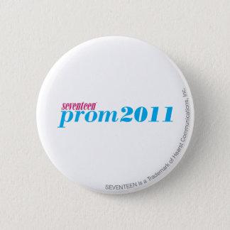 プロム2011年-水 5.7CM 丸型バッジ