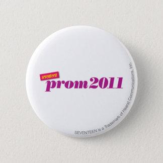 プロム2011年-紫色 5.7CM 丸型バッジ