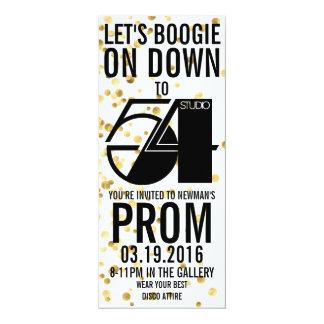 プロム2016の招待状 カード
