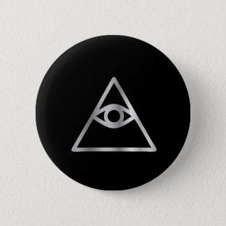 プロヴィデンスの宗教アイコンのCao戴の目 缶バッジ