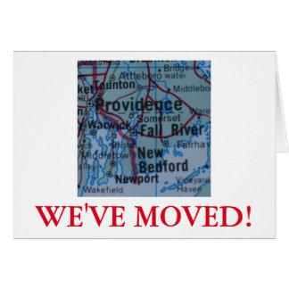 プロヴィデンスの引っ越しましたの住所発表 カード