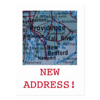 プロヴィデンスの新しい住所発表 ポストカード
