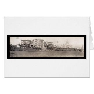 プロヴィデンスのRIの国会議事堂の写真1909年 カード