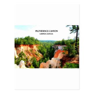 プロヴィデンス渓谷- Lumpkin、ジョージア ポストカード