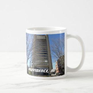 プロヴィデンス、ロードアイランド-大学丘の建物 コーヒーマグカップ