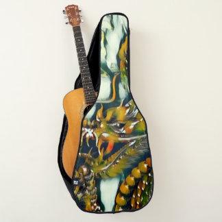 プロ古代中国のな皇帝のドラゴンのカスタム ギターケース