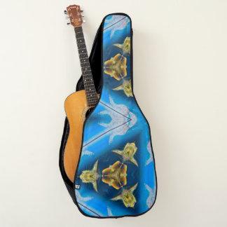 プロ外国の宇宙猫のカスタム ギターケース
